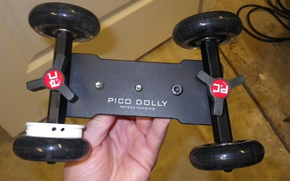 Here Is The Pico Dolly With First Step Complete I Used Rim Of A Lid That Went To An Old Pill Container And Attached It Inside